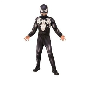 Marvel Venom Boys Halloween Costume Size  LG 10-12